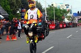 Final Honda City Battle Semarang, Datangkan Stuntrider Jepang