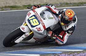 Federal Oil Gresini Moto2 Bersama Xavier Simeon Jalani Tes Hari Pertama di Jerez