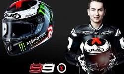 Tim Yamaha Meminta HJC Ubah Disain Helm Jorge Lorenzo