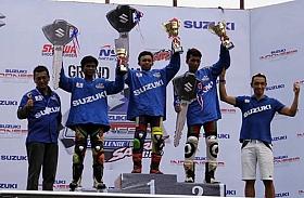 Adi Chandra Jadi Jawara Di Gelaran Suzuki Indonesia Challenge (SIC) 2015