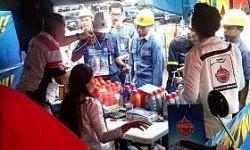 Grebek Pasar Federal Oil Sambangi PT Krakatau Steel
