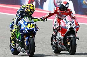 Kalah dari Dovizioso, Rossi Akui Ducati Lebih Kencang
