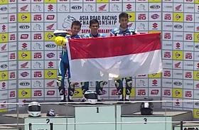 Tiga Wakil Indonesia Kuasai Podium Suzuki Asia Challenge Seri Perdana