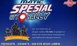 Aplikasi Canggih Penuntun Peserta Spesial City Rally