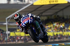 Lorenzo Dominasi MotoGP Seri Le Mans, Perancis