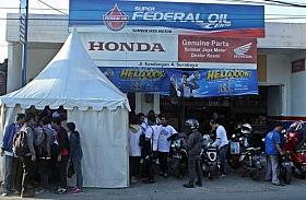 Sumber Jaya Motor, Federal Oil Center di Kawasan Surabaya