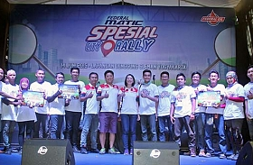 Ini Dia Para Pemenang Spesial City Rally Yogyakarta