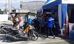 Feders Sulawesi Tengah Dapat Program Ganti Oli Gratis Takjil