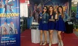 Trio Macan Meriahkan Booth Federal Oil di Surabaya Carnival
