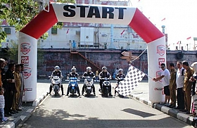 Endurance Journey With Federal Oil, Sudah Meluncur Dari Aceh