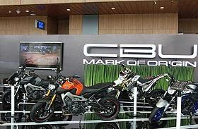 Mengusung Tema Sport DNA , Yamaha Tonjolkan Big Bike di GIIAS 2015