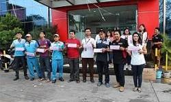 Perayaan HUT RI Ke-70 Tahun Oleh Karyawan Federal Karyatama Berlangsung Meriah