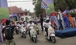 Animo Peserta Federal Matic Spesial City Rally di Palembang, Paling Besar