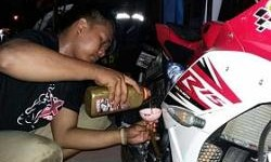 Ganti Oli Gratis di 3rd Anniversary Yamaha Byson Club Indonesia Chapter Tangerang