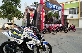 Federal Oil Meriahkan 3rd Anniversary Yamaha Byson Club Indonesia Chapter Tangerang