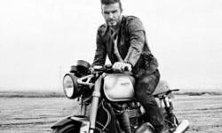 Beckham Tunggangi Triumph Bonneville Terbaru Dalam Film Outlaws