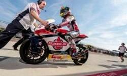 Pangkas  1,5 Detik di Kualifikasi, Simeon Start Dari Row Ke-6 Moto2 Aragon