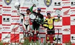 Finish Di Posisi 3, M Dwi Satria Sabet Runner Up di Kejurnas Supersport 600