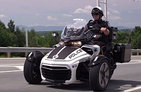 Can-Am Spyder F3-P, Tunggangan Baru Polisi Amerika