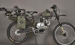 Motoped Survival Bike, Sepeda Bermotor Untuk Berburu