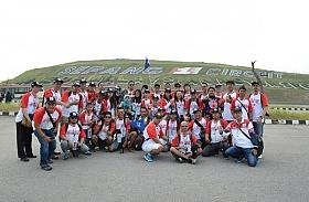 Rombongan Federal Oil Goes To Sepang, Curi Perhatian Penonton MotoGP Malaysia