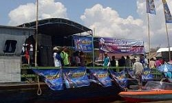 Promo Berbeda di Banjarmasin, Federal Oil Ramaikan Lomba Dayung