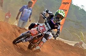 Sheva Raih Podium Dua Kejurnas Motocross Cibinong
