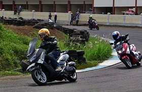 Jakarta Max Owners Gelar Safety Riding Course