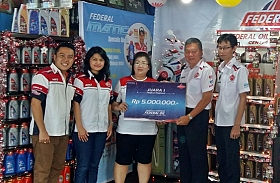 Sumber Motor Sabet Juara I Display Contest Federal Oil Region Sumatera