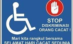 Hari Penyandang Cacat Internasional 2015, Stop Diskriminasi