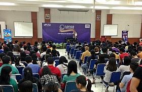 Lensa Indonesia Goes To Campus Bergulir Di Universitas Bunda Mulia