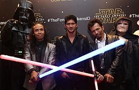 Penampilan Tiga Aktor Indonesia di Star Wars The Force Awakens