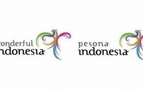 Logo Wonderful dan Pesona Indonesia Alami Reposisi