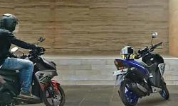 Video Valentino Rossi Taklukan Lalu Lintas Jakarta Dengan Yamaha Aerox