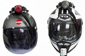 Wiper Untuk Helm, Berita Baik Hadapi Musim Hujan