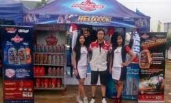 Booth Federal Oil Hadir Di Drag Bike Lampung