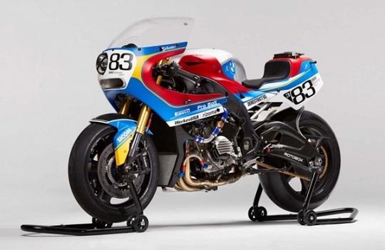 BMW S1000RR Ala Motor Balap Ketahanan Bol d'Or