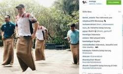 Sam Lowes Balap Karung, Dilihat Jutaan Penggemar MotoGP