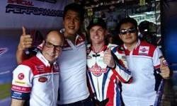 Sam Lowes Kunjungi SFOC Eka Motor, Di Sambut Meriah