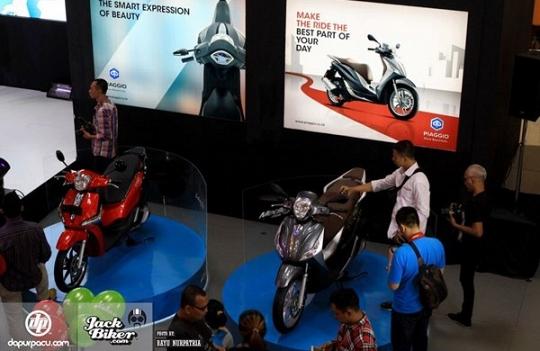 Ini Dia Skuter Terbaru Dari Piaggio Indonesia, Keren Banget