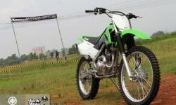 New Kawasaki KLX 150 Tanpa Lampu Depan-Belakang, Tampil Lebih Sporty