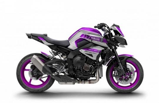 Yamaha MT-10 Beauty And The Beast, Ini Motornya