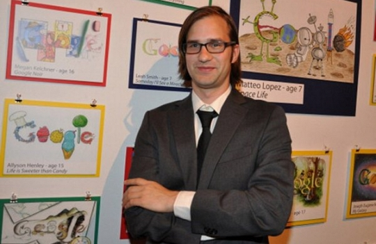 Ryan Germick, Sosok Dibalik Gambar-Gambar Google Doodle
