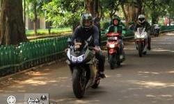 Pacu Kawasaki Ninja Ke Kampung Halaman, Reza Rasakan Keunggulan Federal Oil