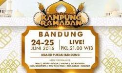 Hari Ini Kampung Ramadhan Global TV Hadir di Kota Bandung