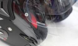 Pinlock, Pelapis Kaca Helm Yang Anti Kabut