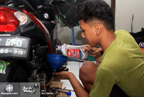 Federal Matic Buat Honda Beat Makin Responsif