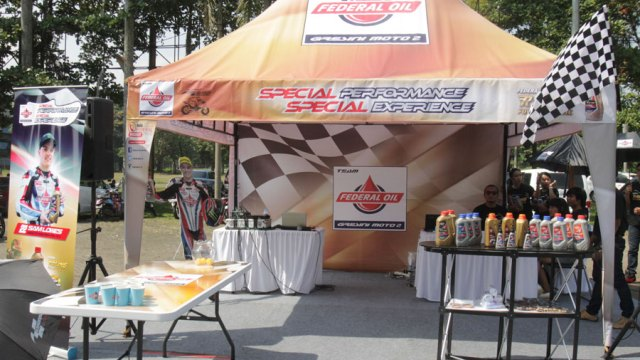 Federal Oil Buka Booth Spesial di Ajang ARRC 2016