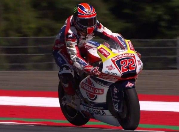 Setang Patah Sebabkan Lowes Terjatuh di Moto2 Austria