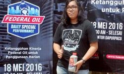 Honda CBR 150 R Gunakan Federal Supreme XX Pada Federal Oil Daily Special Performance